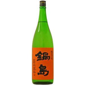 鍋島 純米吟醸 五百万石 火入れ 【佐賀 富久千代酒造】