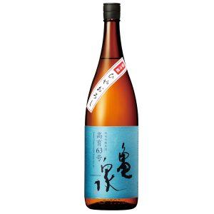 亀泉 純米吟醸原酒 ひやおろし高育63号 1.8L【高知県 亀泉酒造】