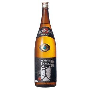 梅錦 特別純米酒 夢人1.8L 【愛媛県・四国中央市】