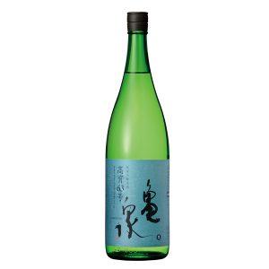 亀泉 純米吟醸生原酒 高育63号 【高知県 亀泉酒造】